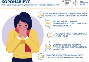 Як знизити ризик інфікування коронавірусом